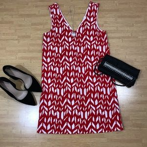 Every Red Patterned Tank Dress
